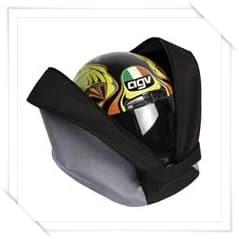 Sacco porta casco con tracolla