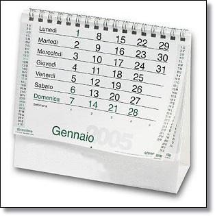 Un calendario da tavola per il tuo ufficio