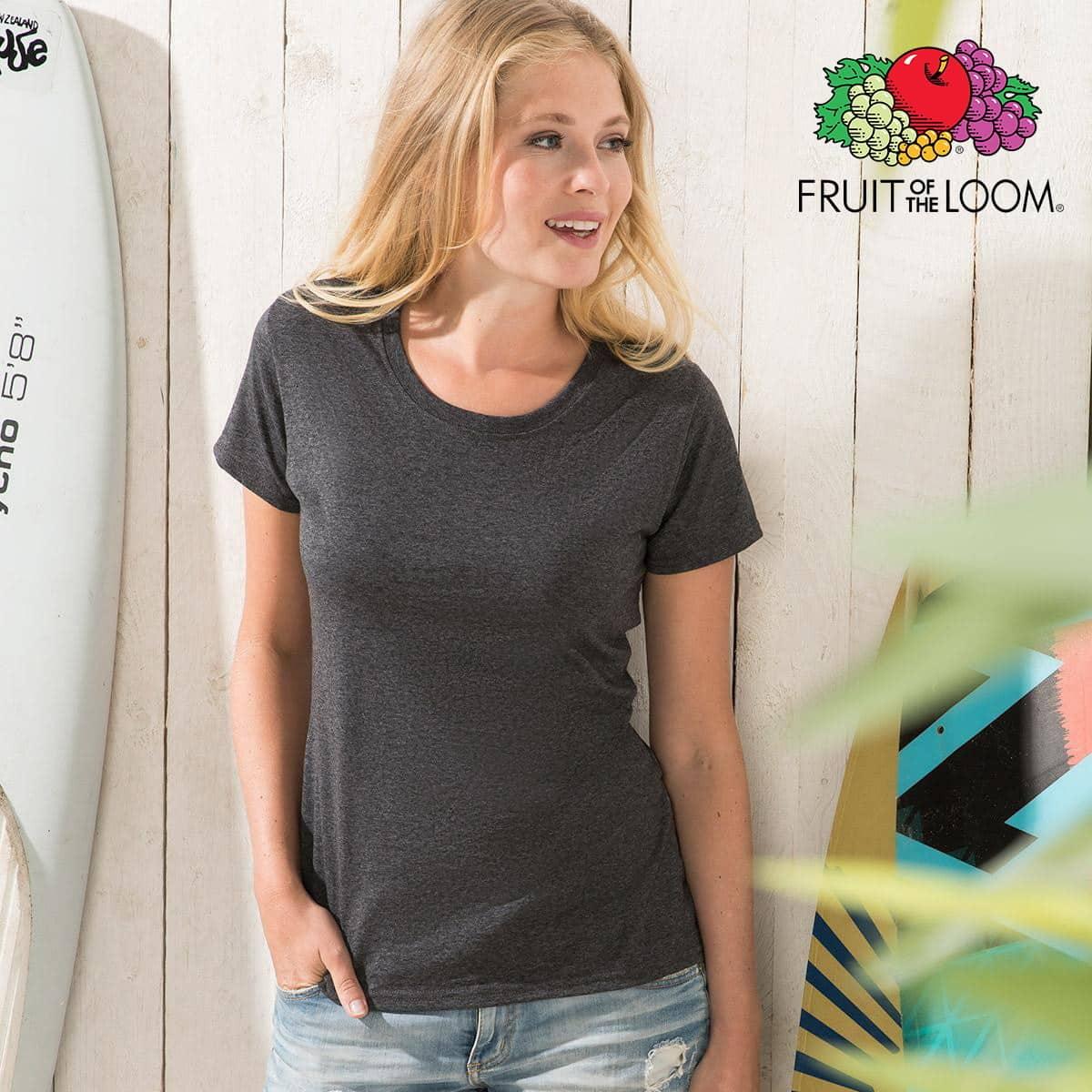 Tshirt donna manica corta grigia 100% cotone