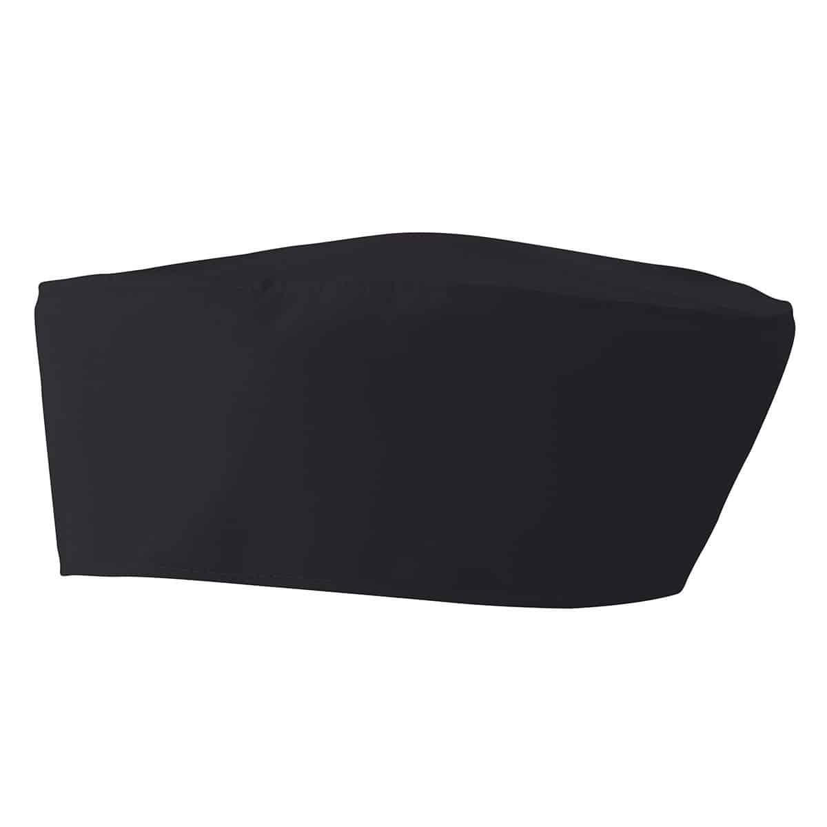 Profilo cappello da cuoco grigio elasticizzato sul retro