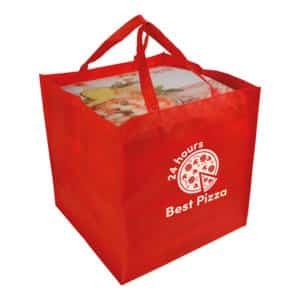 Porta pizza in TNT Nimes