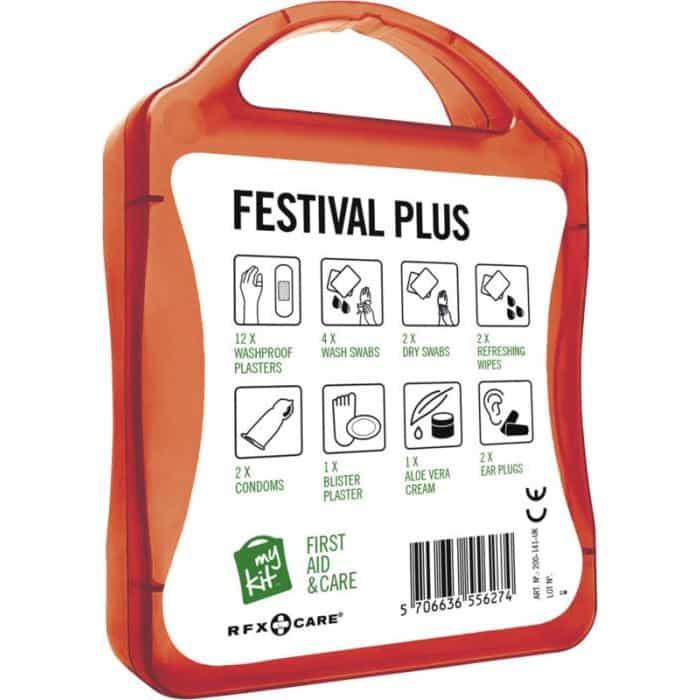 Retro kit per eventi e festival rosso