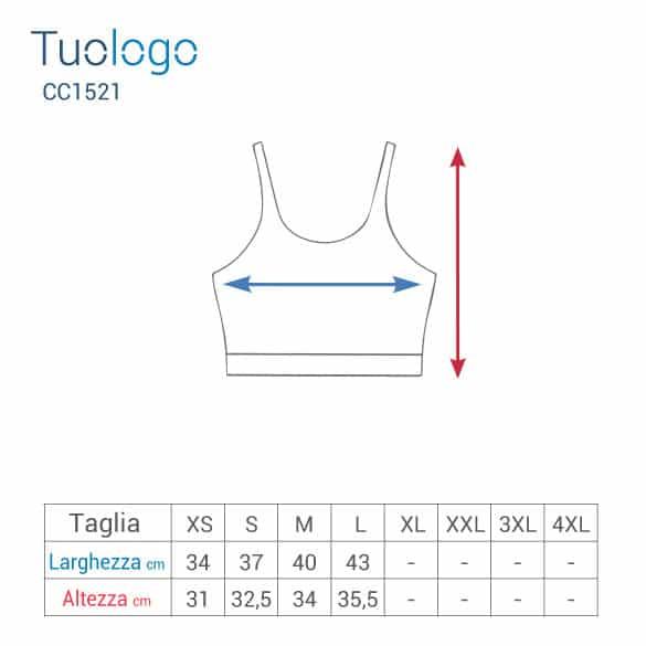 Tabelle misure altezza e larghezza