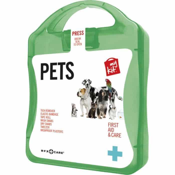 Kit verde di pronto soccorso per animali