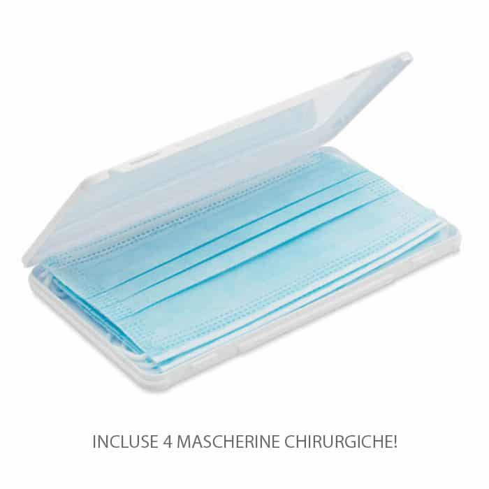 Astuccio portamascherine in plastica