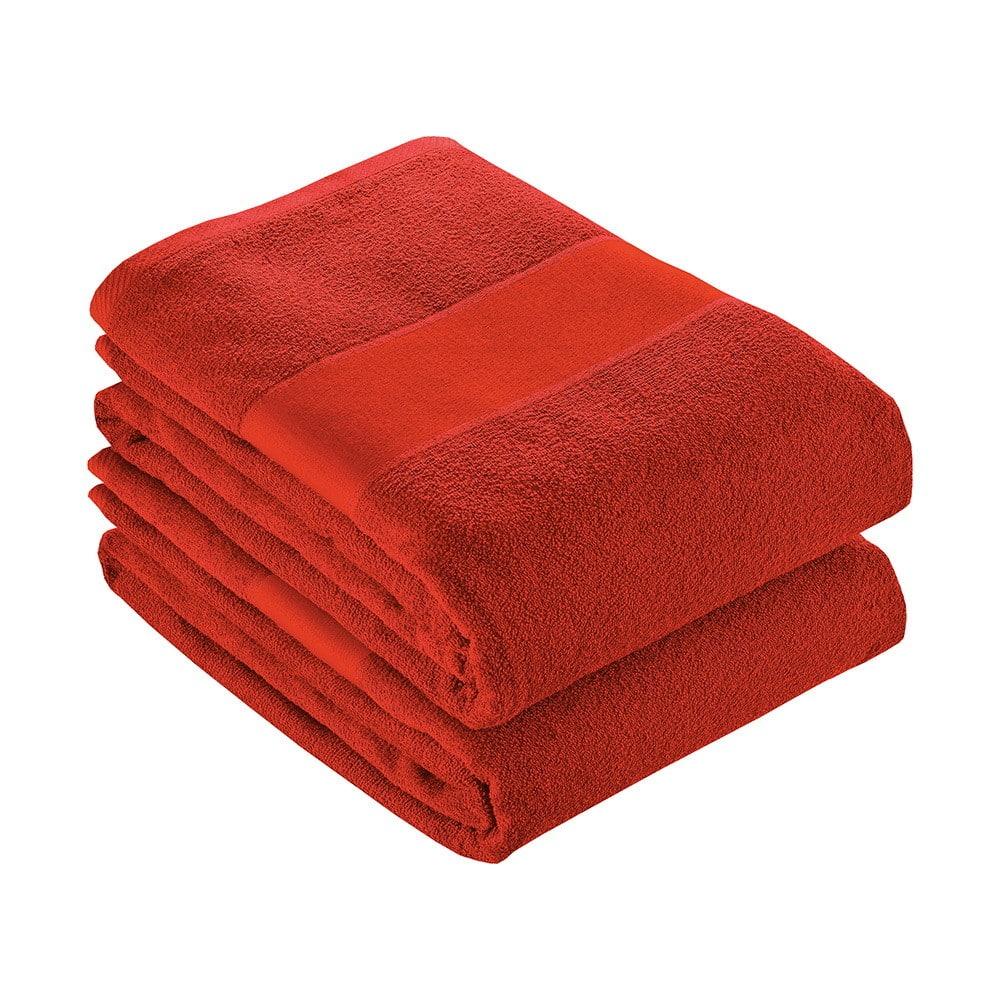 Telo rosso in cotone