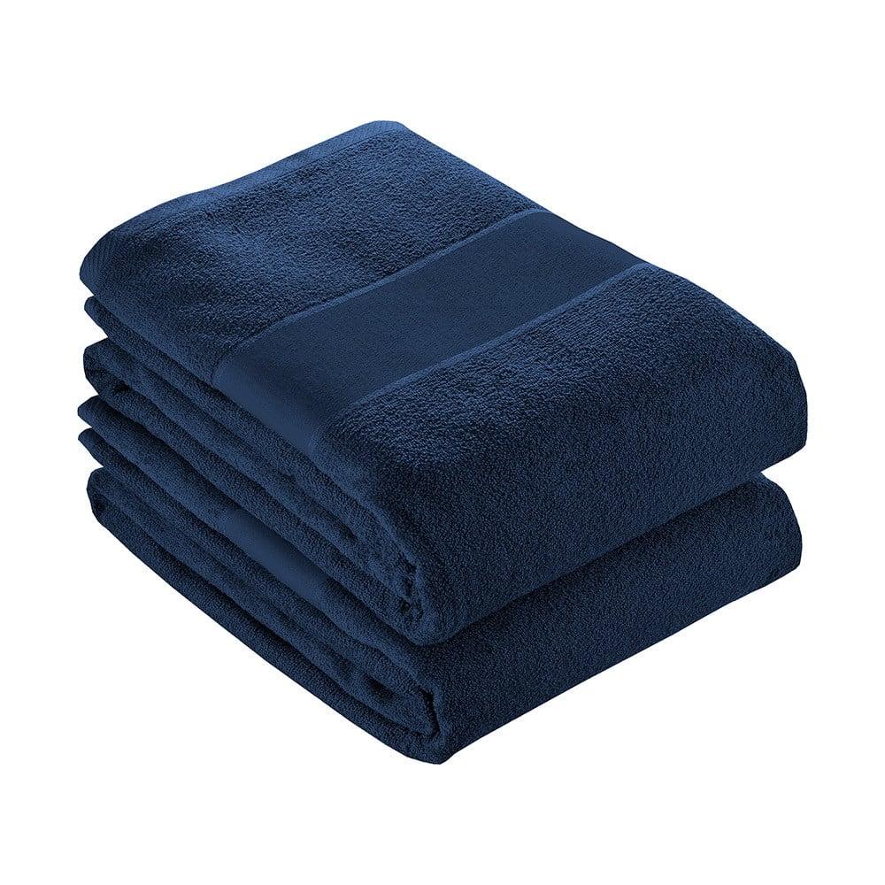 Telo blu in cotone