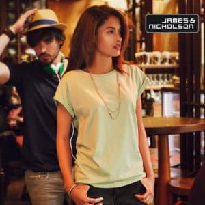 Tshirt donna organica Cambridge